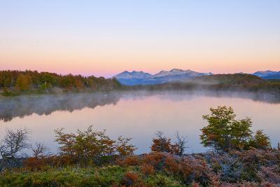 Lake in Autumn, Patagonia, Argentina, South America-Pablo Cersosimo-Photographic Print