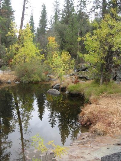 Lake In Sierras-NaxArt-Art Print