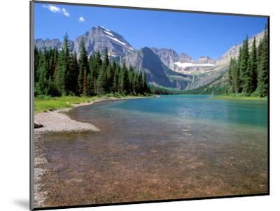 Lake Josephine with Grinnell Glacier and the Continental Divide, Glacier National Park, Montana-Jamie & Judy Wild-Mounted Photographic Print