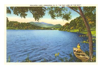Lake Junaluska, North Carolina--Art Print