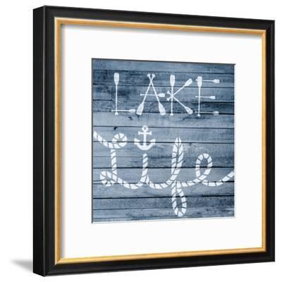 Lake Life 3-Marcus Prime-Framed Art Print