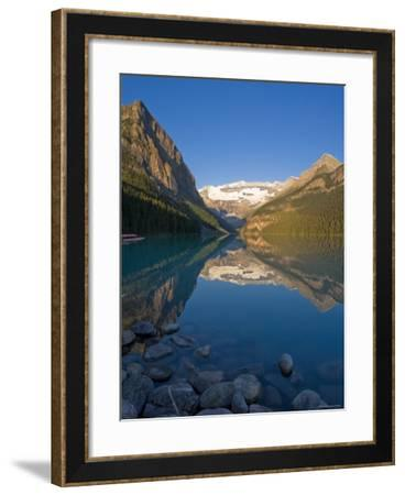 Lake Louise, Banff National Park, Alberta, Canada-Michele Falzone-Framed Photographic Print