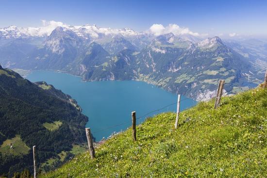 Lake Lucerne-Frank Lukasseck-Photographic Print