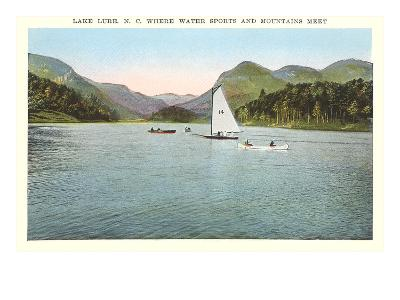 Lake Lure, North Carolina--Art Print