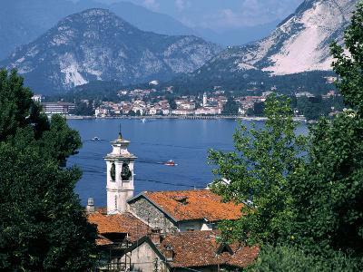 Lake Maggiore, Isola Bella Baveno in Background, Italy-Peter Thompson-Photographic Print