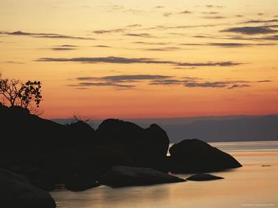 Lake Malawi at Sunset-Peter Carsten-Photographic Print