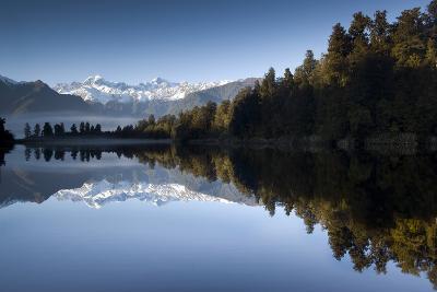 Lake Matheson, Mt Cook, New Zealand-PhotoImages-Photographic Print