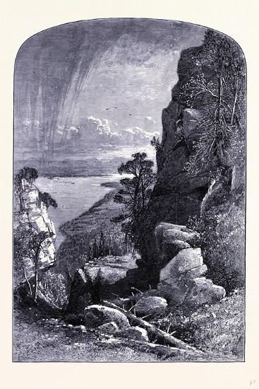 Lake Memphremagog United States of America--Giclee Print