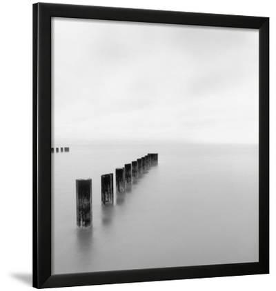 Lake Michigan Morning, Chicago, 2001-Michael Kenna-Framed Art Print