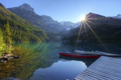 Lake O'hara Morning-photosbygar photography-Photographic Print