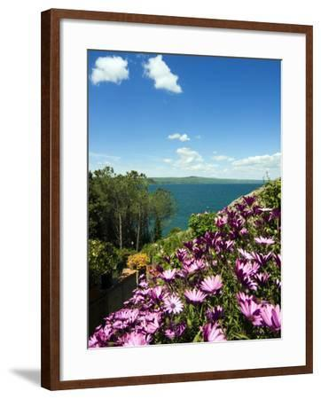 Lake of Bolsena, View from Capodimonte, Viterbo, Lazio, Italy, Europe-Tondini Nico-Framed Photographic Print