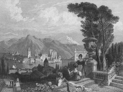 Lake of Como, c1850--Giclee Print
