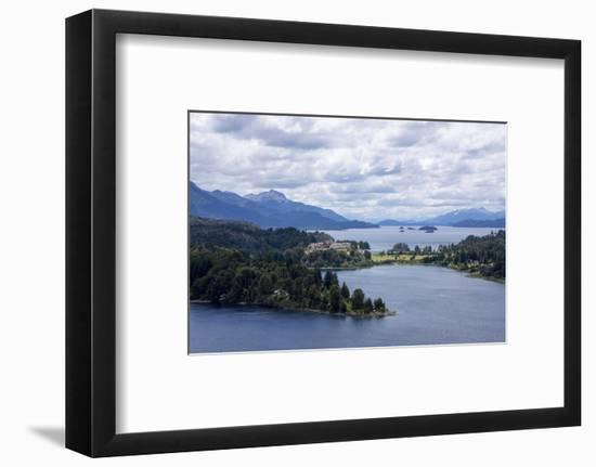 Lake of Nahuel Huapi, Bariloche, Argentina-Peter Groenendijk-Framed Photographic Print