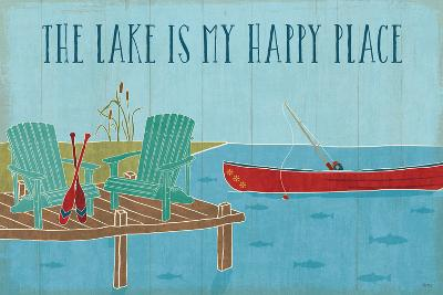 Lake Pals II-Veronique Charron-Art Print