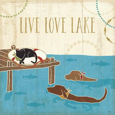Lake Pals V-Veronique Charron-Art Print
