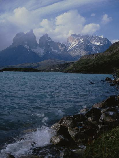 Lake Pehoe, Torres Del Paine National Park, Patagonia, Chile-Natalie Tepper-Photo