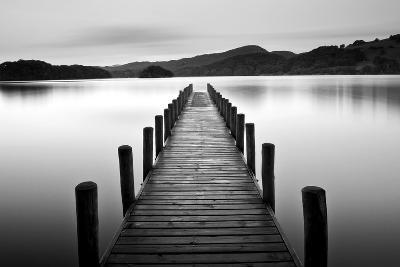 Lake Pier--Photographic Print
