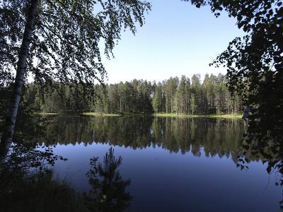 Lake Pihlajavesi, Punkaharju Nature Reserve, Savonlinna, Savonia, Finland, Scandinavia, Europe--Photographic Print