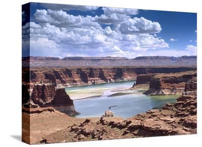 Lake Powell, Glen Canyon National Recreation Area, Utah-Tim Fitzharris-Stretched Canvas Print