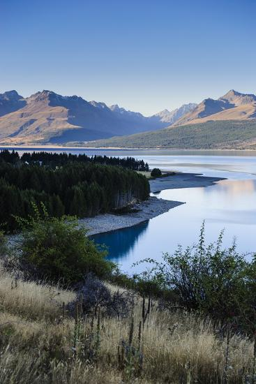 Lake Pukaki, Mount Cook National Park, South Island, New Zealand, Pacific-Michael Runkel-Photographic Print