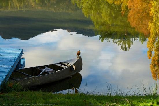 Lake Reflection-Sally Linden-Art Print