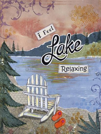 Lake Relaxing-Let Your Art Soar-Giclee Print