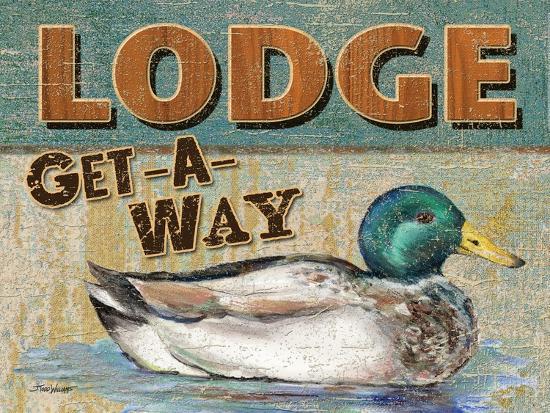 Lake Resort-Todd Williams-Art Print