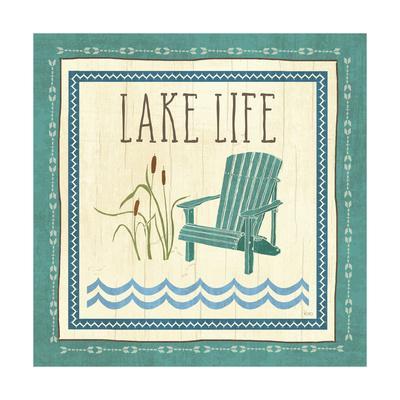 Lake Retreat IV-Veronique Charron-Framed Art Print