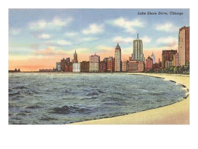 Lake Shore Drive, Chicago, Illinois--Art Print