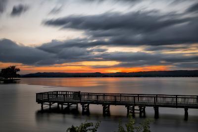 Lake Sunset-Danny Head-Photographic Print