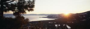 Lake Tahoe at Sunrise, Californian Sierra Nevada, California, USA