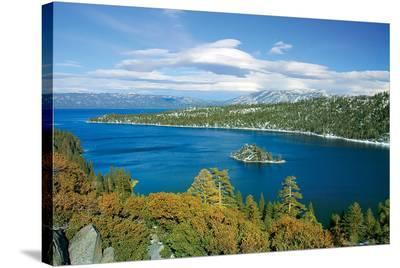 Lake Tahoe - Emerald Bay Calif--Stretched Canvas Print