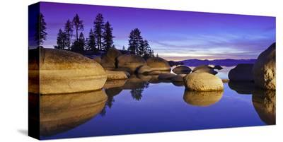 Lake Tahoe V--Stretched Canvas Print