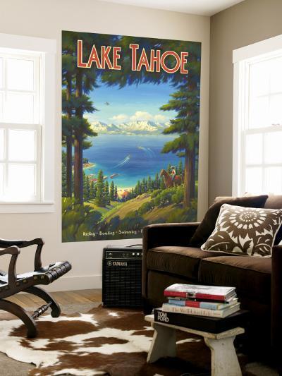 Lake Tahoe--Wall Mural