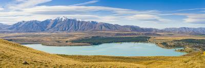 Lake Tekapo and Snow Capped Mountains-Matthew Williams-Ellis-Photographic Print