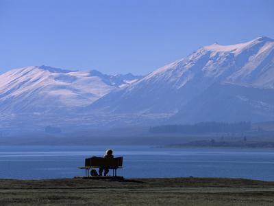Lake Tekapo, Mackenzie Basin, South Island, New Zealand, Pacific-Mcconnell Andrew-Photographic Print