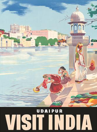 Lake Udaipur: Visit India, c.1957
