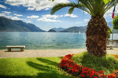 Lake View From Menaggio-George Oze-Photographic Print