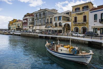 Lake Voulismeni, Agios Nikolaos, Crete, Greek Islands, Greece-Michael Runkel-Photographic Print