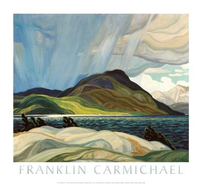 Lake Wabagishik-Franklin Carmichael-Art Print