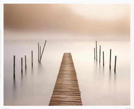 Lake Walk I-Jonathan Critchley-Art Print