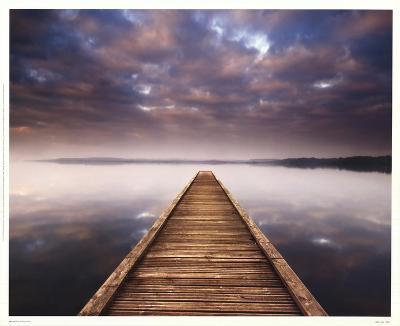 Lake Walk III-Jonathan Critchley-Art Print