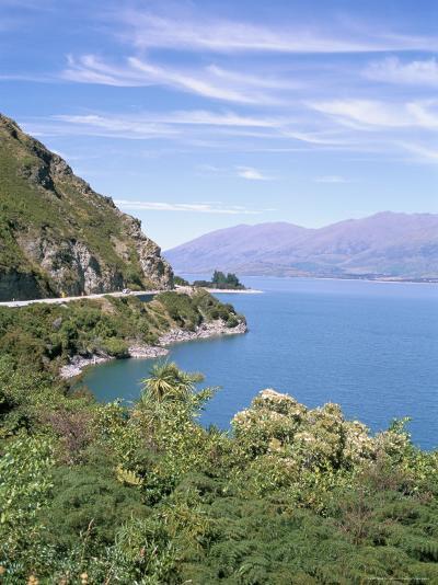 Lake Wanaka, Otago District, South Island, New Zealand-Geoff Renner-Photographic Print