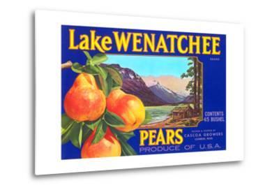 Lake Wenatchee Pear Label