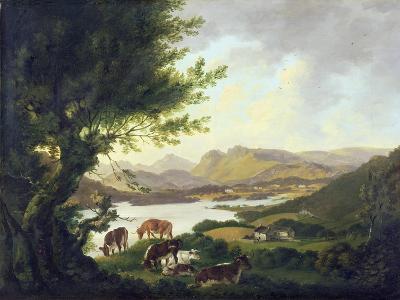 Lake Windemere-Julius Caesar Ibbetson-Giclee Print