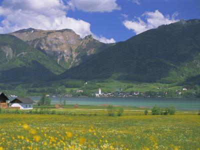 Lake Wolfgangsee, St. Wolfgang, the Salzkammergut, Austria, Europe-Gavin Hellier-Photographic Print