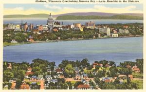 Lakes Mendota and Monona, Madison, Wisconsin