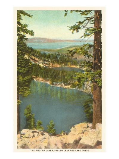 Lakes Near Lake Tahoe--Art Print