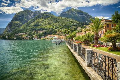 Lakeshore Scenic, Menaggio, Italy-George Oze-Photographic Print