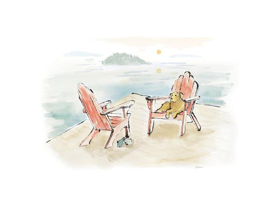 Lakeside Days I-Sue Schlabach-Art Print